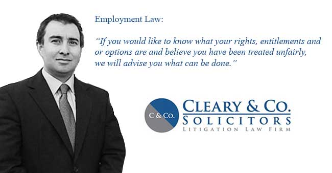 roger cleary employment law specialist