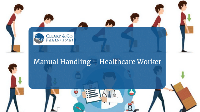 manual handling healthcare worker