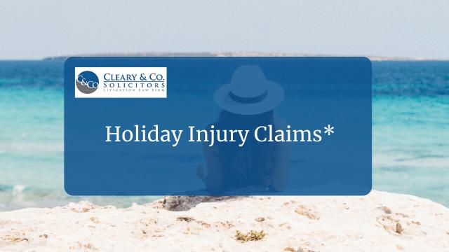 holiday injury claims