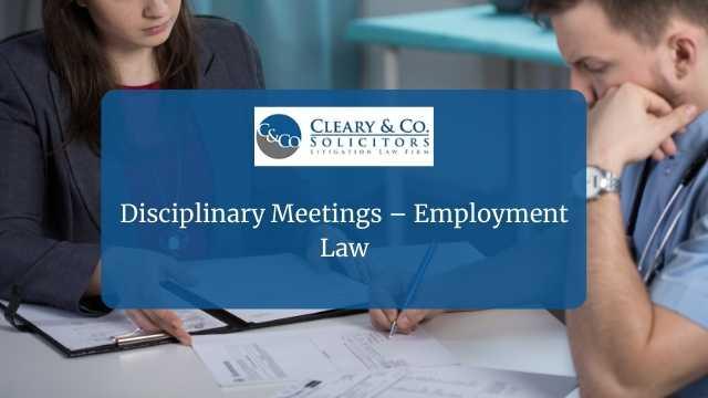 Disciplinary Meetings