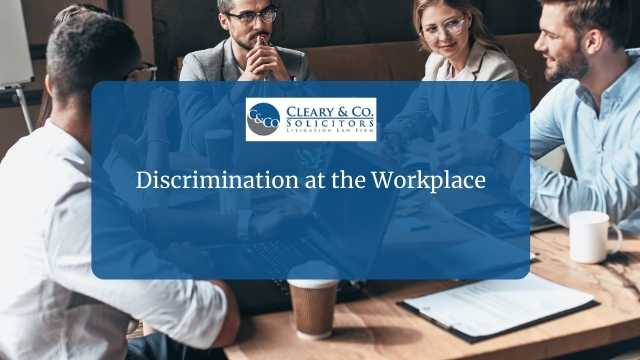 discrimination at the workplace