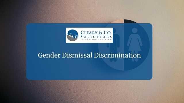 gender dismissal