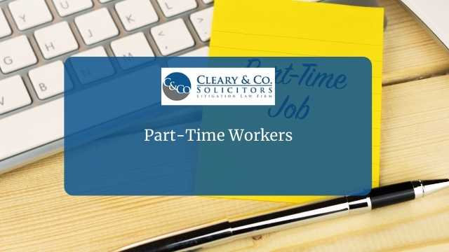 part time worker employment law