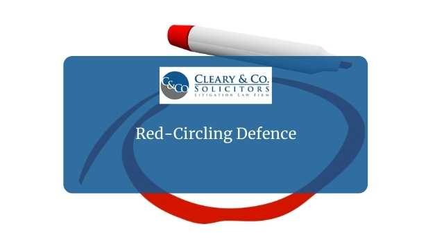 red circle defence and gender pay