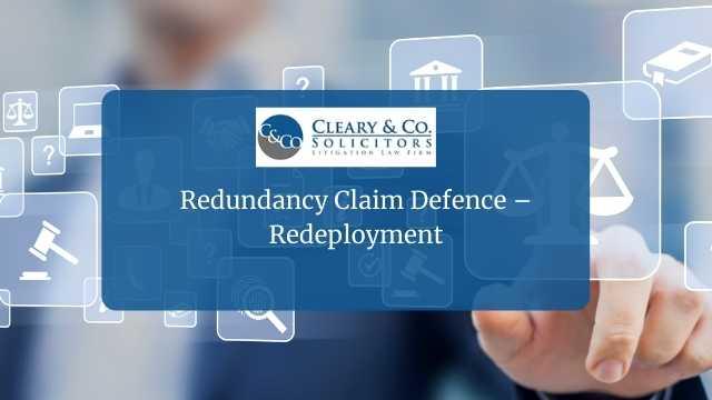 redundancy claim defence