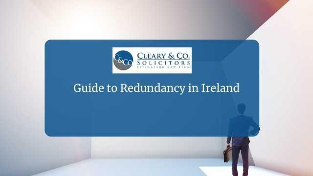 redundancy guide ireland