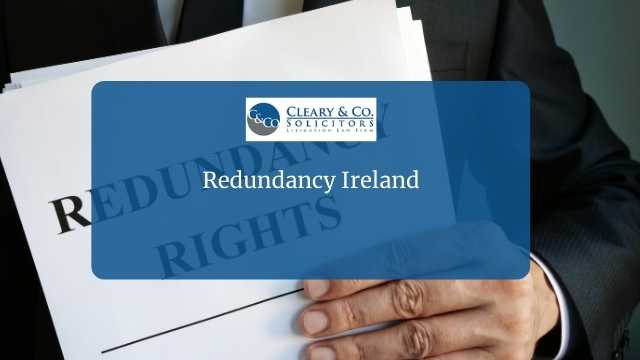 redundancy ireland