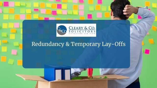redundancy temporary layoffs