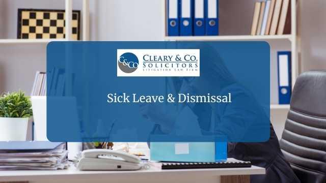 sick leave dismissal
