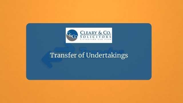 transfer undertakings