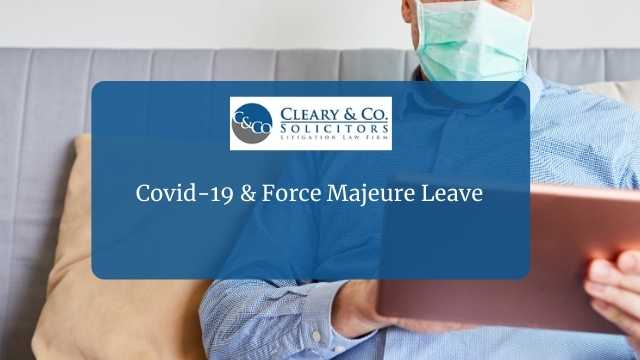 covid 19 force majeure
