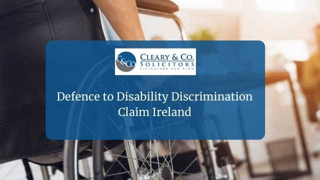 defence disability