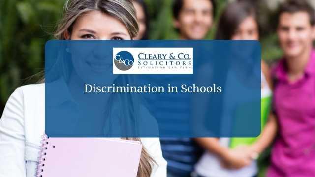 discrimination in schools