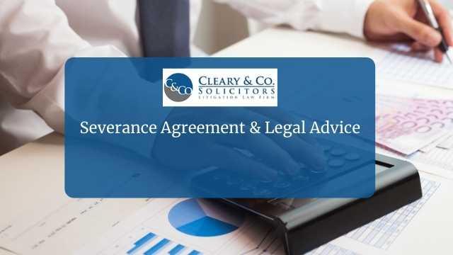 severance agreement legal advice