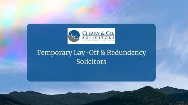 temporary layoff