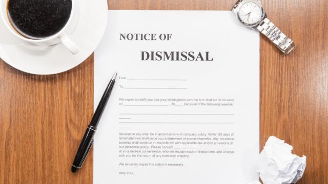 Gross Misconduct & Dismissal