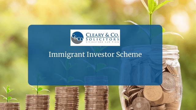 Immigrant Investor Scheme