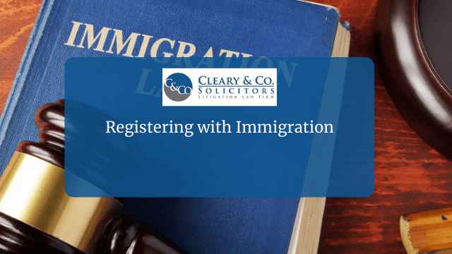 Registering with Immigration