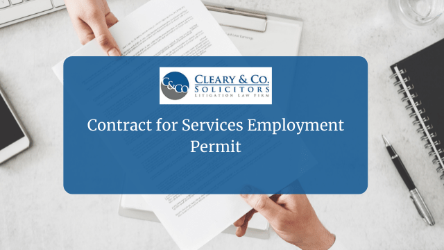 Contract for Services Employment Permit
