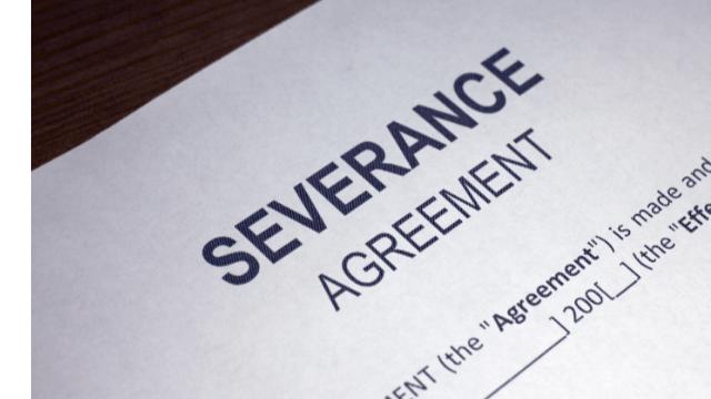 Severance Agreement & Legal Advice