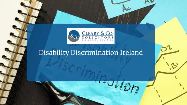 Disability Discrimination Ireland