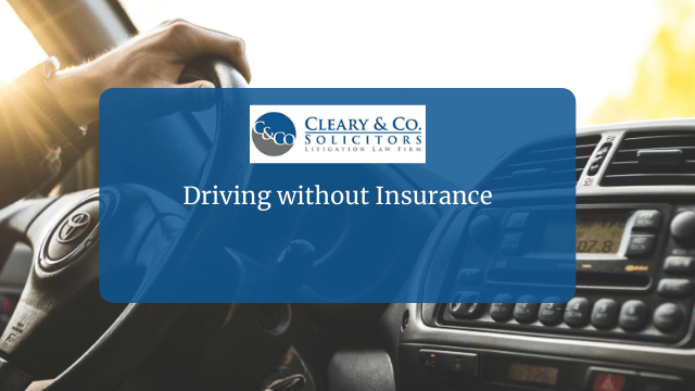 Driving without Insurance Ireland