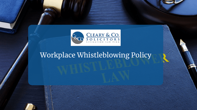 Workplace Whistleblowing Policy